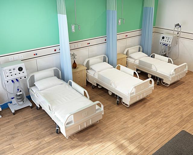 病院の違いはベッドの数