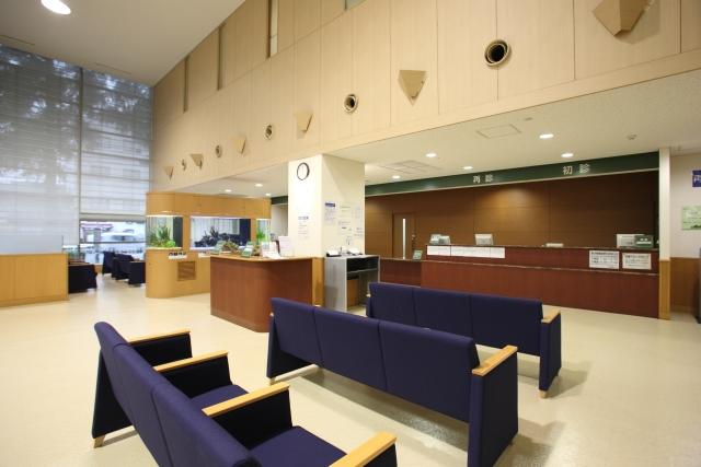 20床以上の病院の待合室