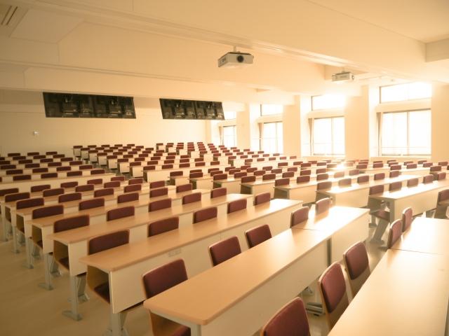 医療事務の専門学校の教室