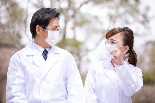 感染症対策ステッカー表示の医療機関